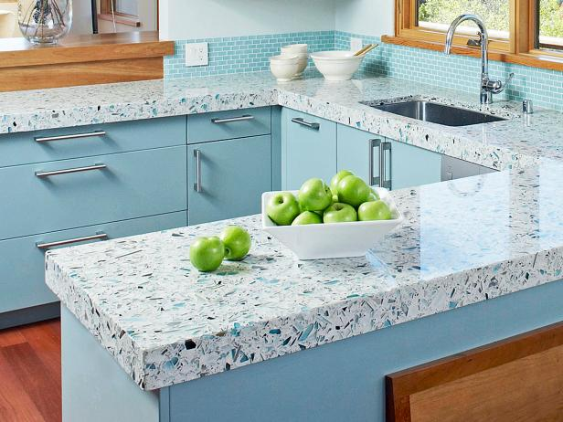 Granite as countertops for kitchens